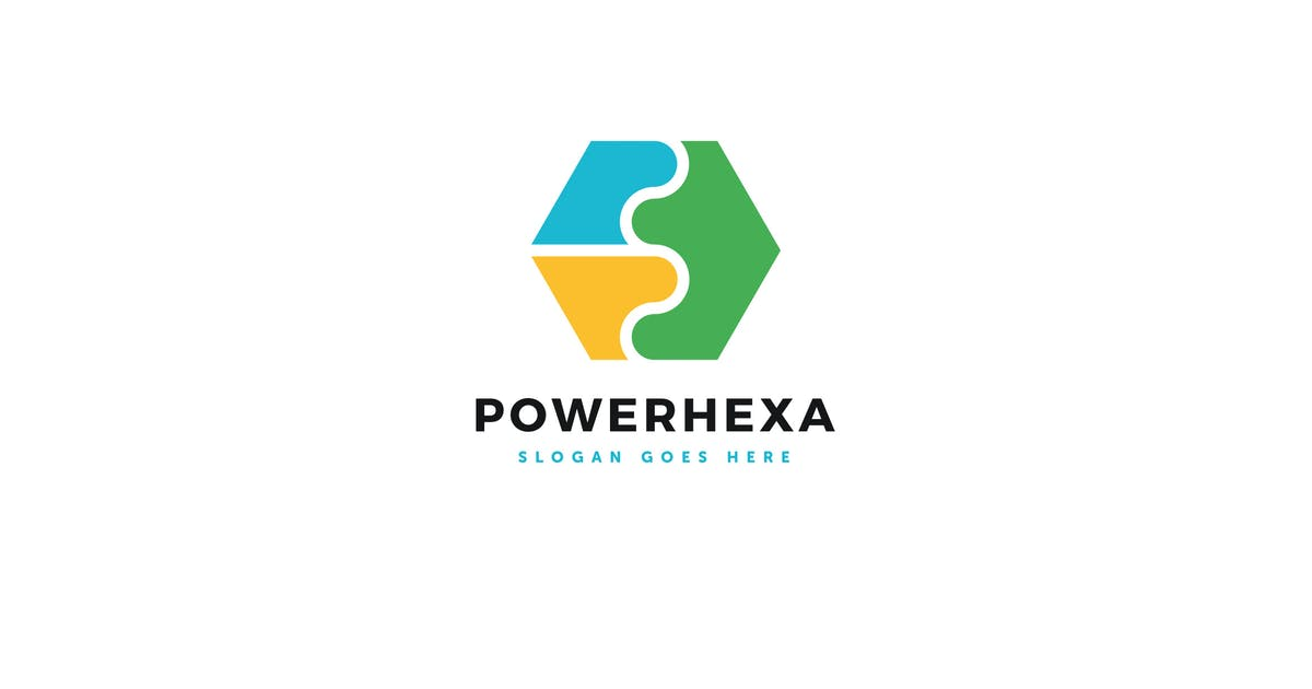 Download Power Hexa Logo Vector Template by Pixasquare
