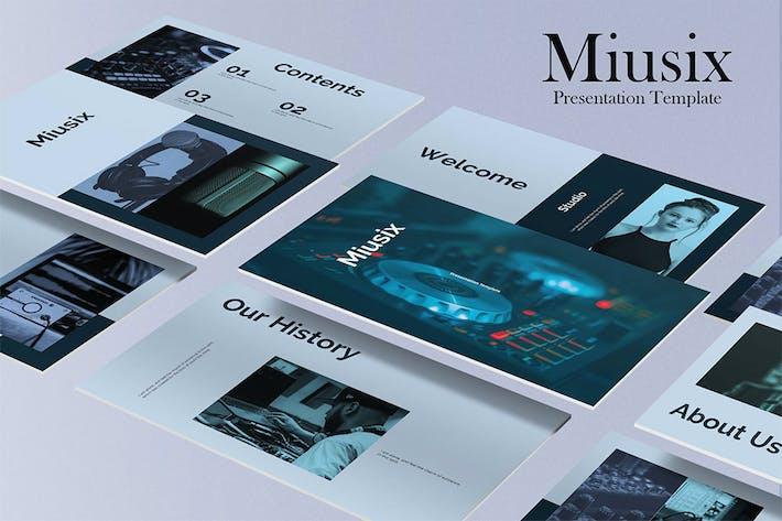 Thumbnail for Miusix - Studio Keynote Presentation