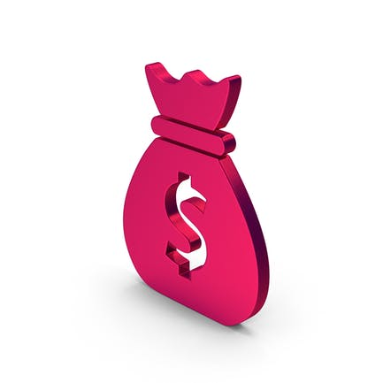 Symbol Money Bag Metallic