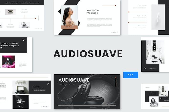 Thumbnail for Audiosuave - Music Keynote Template