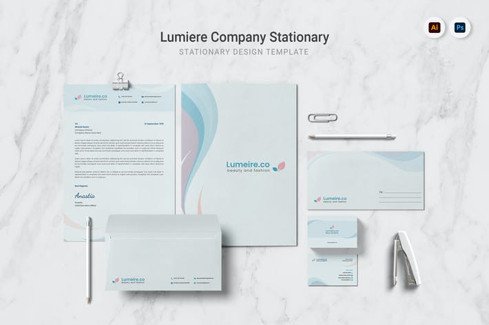 Thumbnail for Lumiere Company Stationary