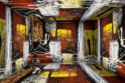 8 Kunst malen Zimmer Bühne