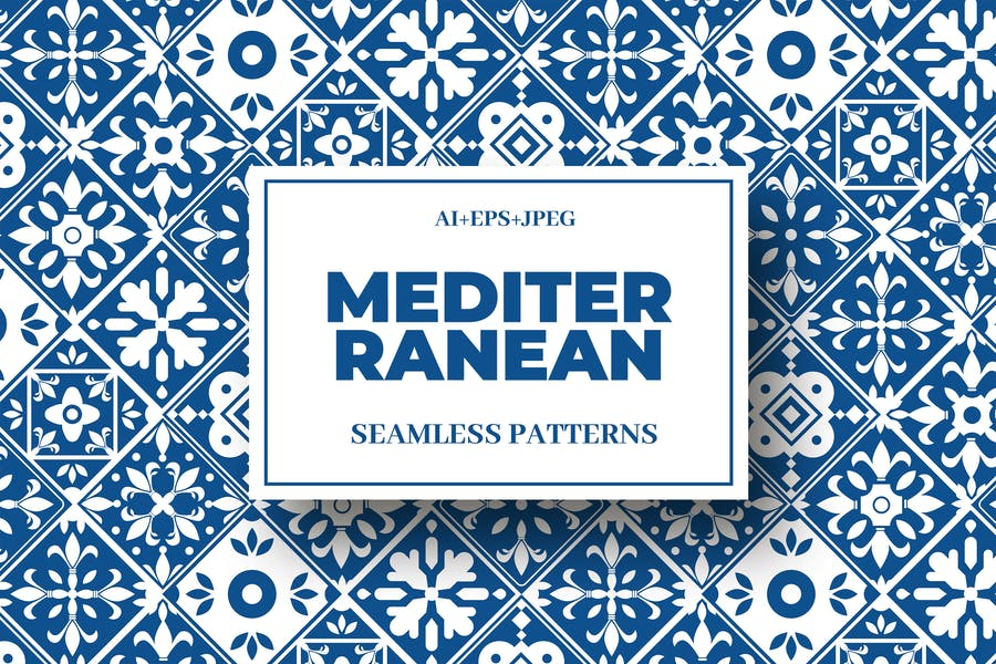 Mediterranean Seamless Pattern Collection