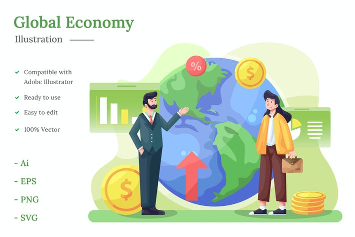 Thumbnail for Global Economy Illustration