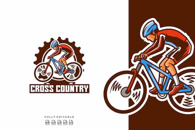 Bicycle Cross Country Bike  Logo