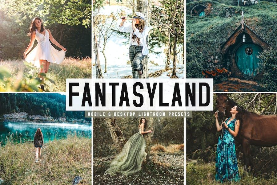 Fantasyland Mobile & Desktop Lightroom Presets