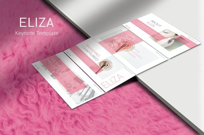 ELIZA Beauty - Cosmetic Keynote Template