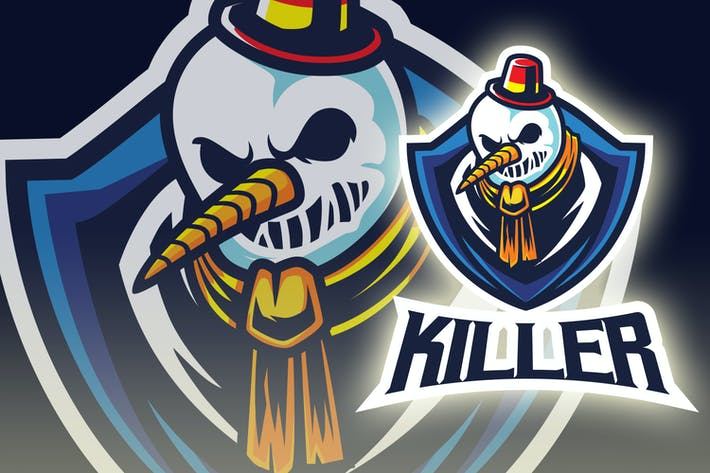 Thumbnail for Snowman Esport Logo