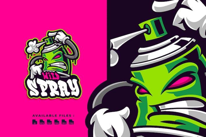 Thumbnail for Wild Sprayer Character Logo
