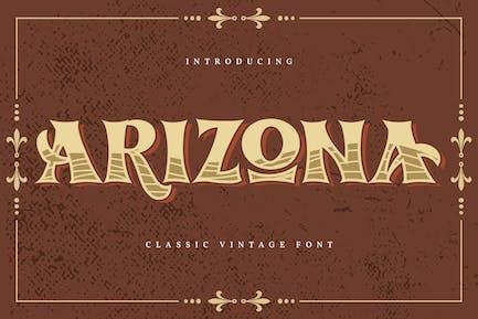 Arizona | Classic Vintage Font