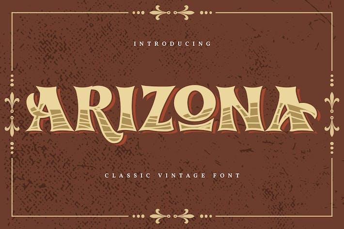Arizona | Fuente clásica vintage