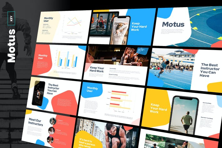 Thumbnail for Motus - Multipurpose Keynote Template