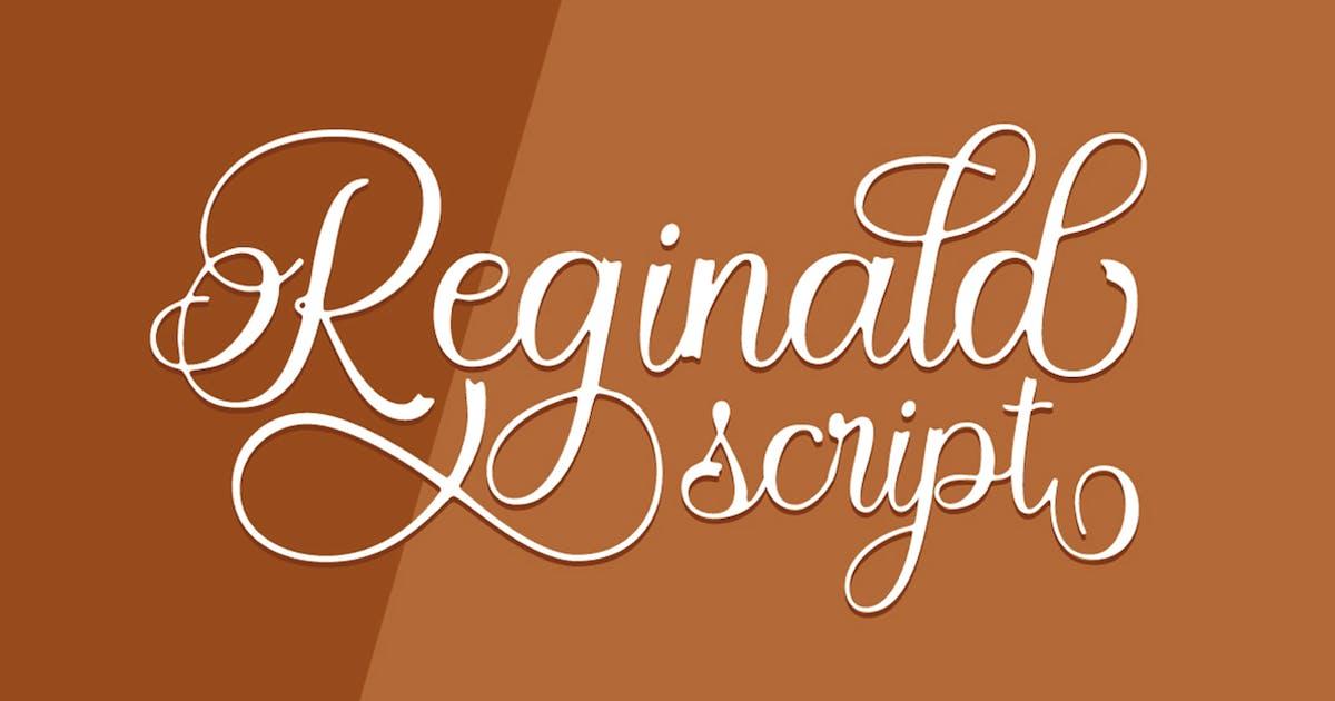 Download Reginald Script by Solidtype
