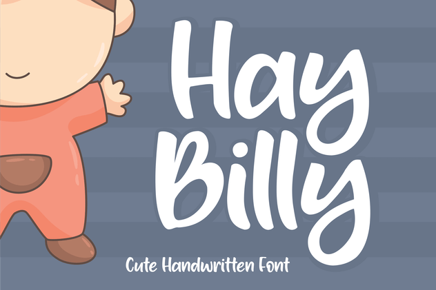 Hay Billy Font