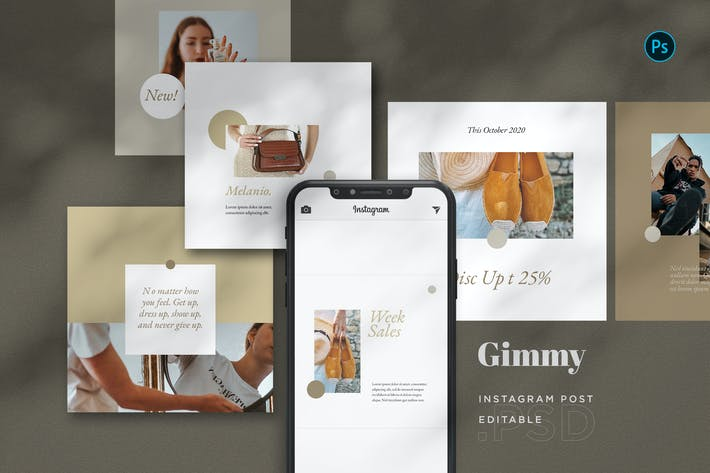 Thumbnail for Gimmy - Fashion Intagram Post BL