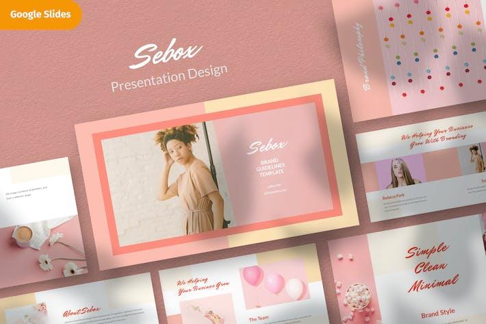 Thumbnail for Sebox - Шаблон дизайна презентации Google Slide