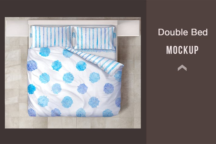 Thumbnail for Double Bed Mockup