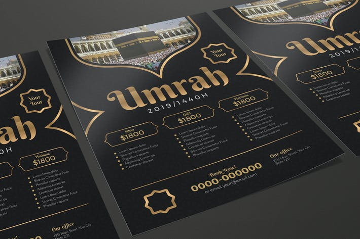 Thumbnail for Umrah/Hajj Travel Flyer