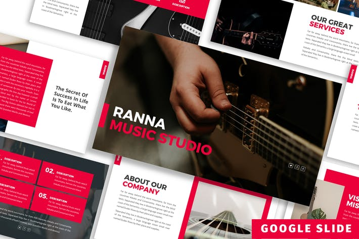 Thumbnail for Ranna - Business Google Slide Template