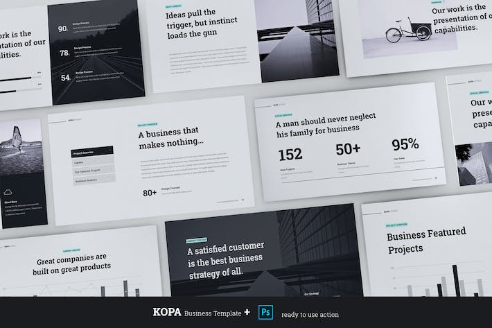 Thumbnail for KOPA - Business & Creative Template (PPTX)