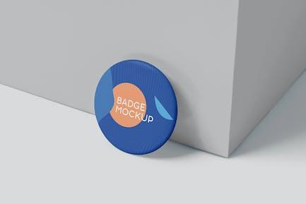 Circular Badge Button Mockups