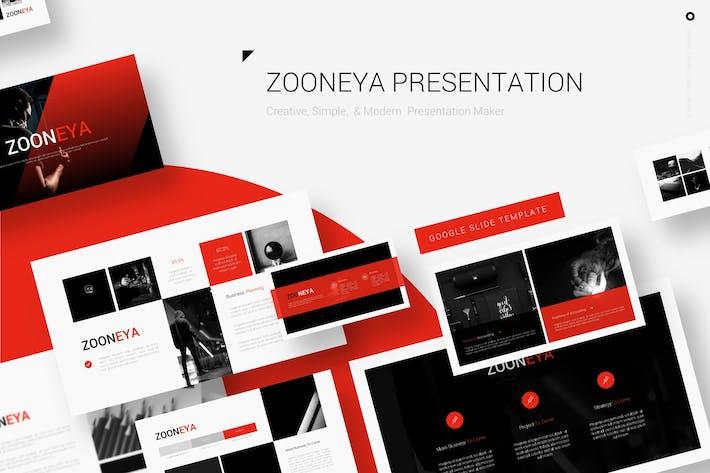 Thumbnail for Zooneya - Google Слайды Шаблон