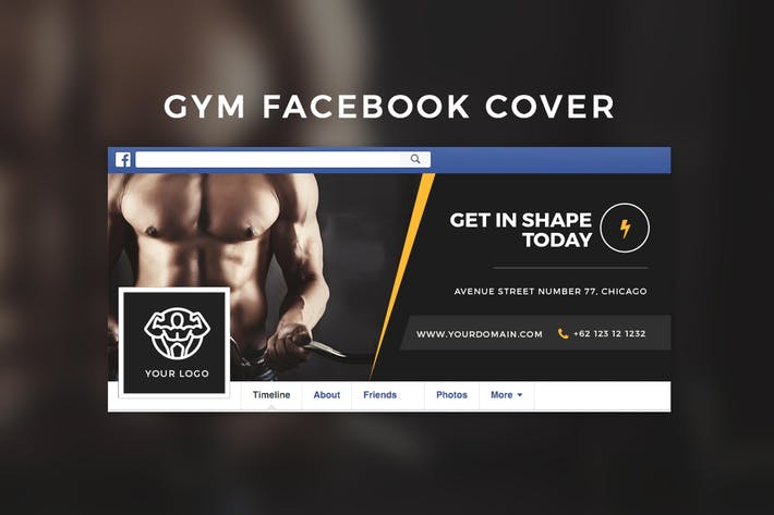 Thumbnail for Cubierta de Facebook de Gym