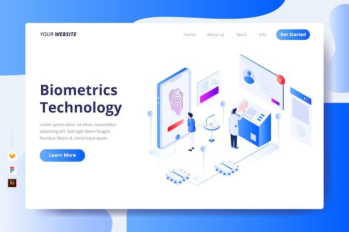 Biometrics Technology - Landing Page