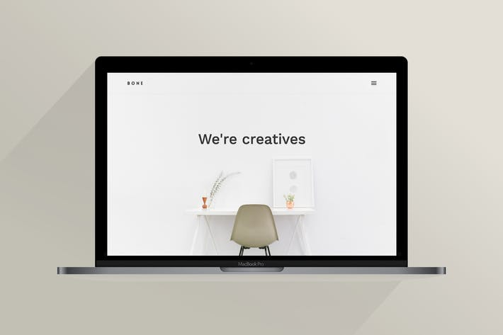 Cover Image For Bone | The Creative Agency Template
