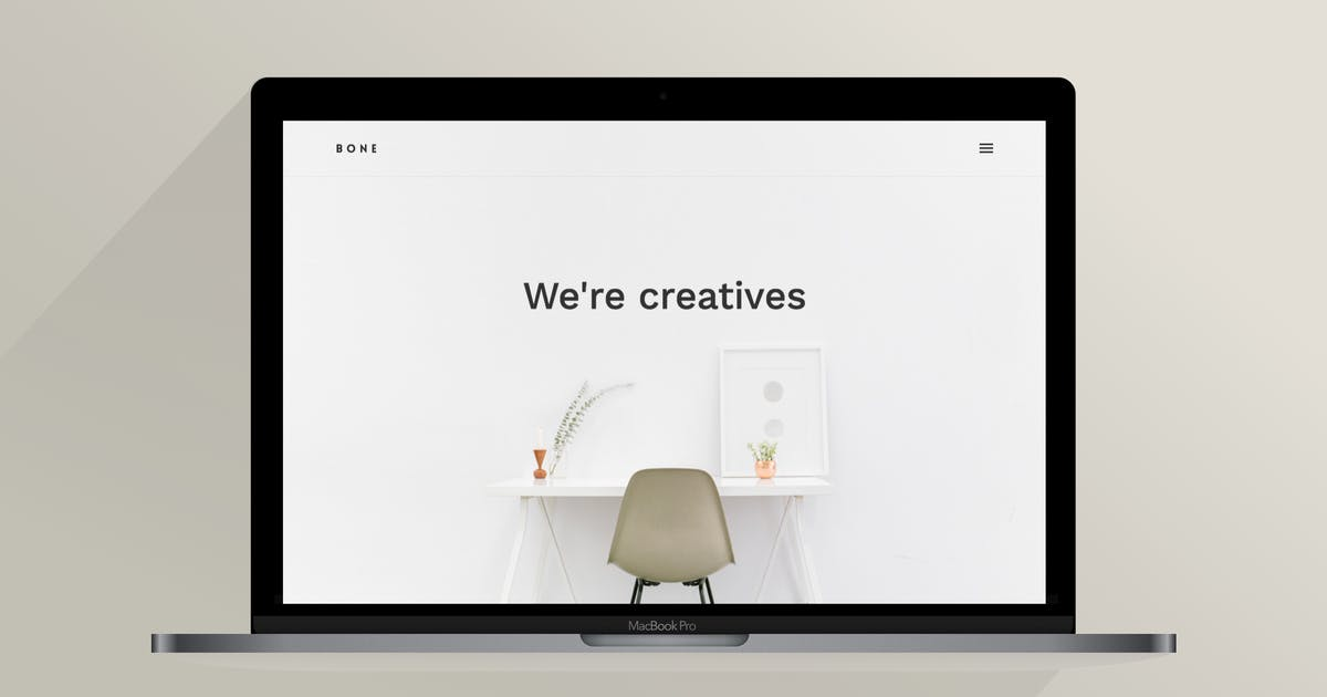Download Bone | The Creative Agency Template by ThemeVillain