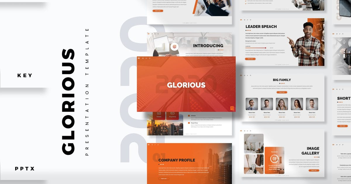 Download Glorious - Presentation Template by aqrstudio