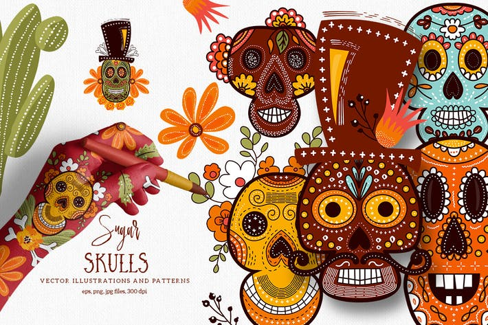 Thumbnail for Sugar Skulls
