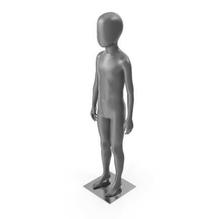 Child Mannequin Neutral Pose