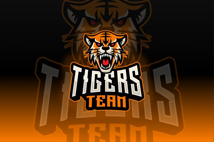 Tigers Sport and Esport Logo Template