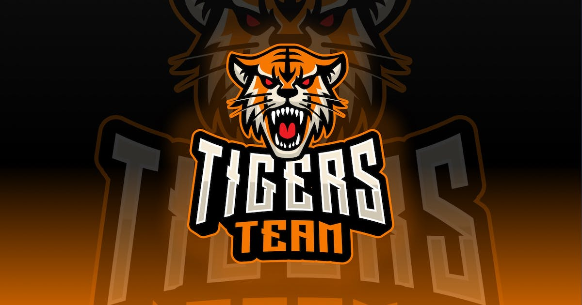 Download Tigers Sport and Esport Logo Template by queentype