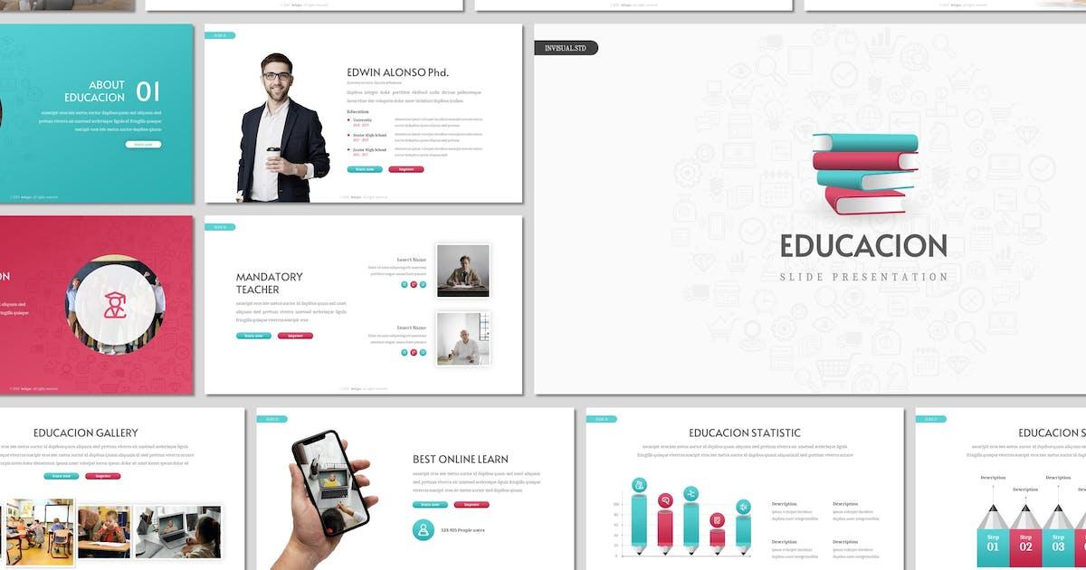 Download Educacion - Education Keynote Template by invisualstudio