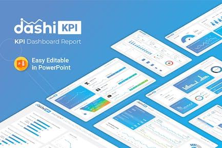 Dashi KPI – Dashboard Report Presentation