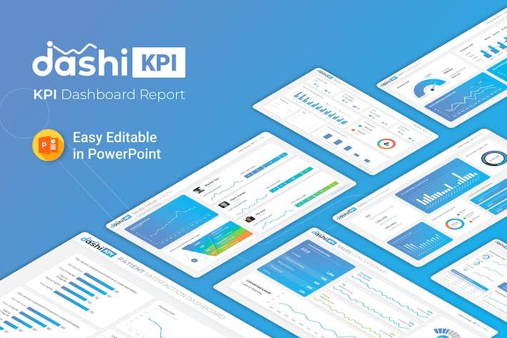 Thumbnail for Dashi KPI – Dashboard Report Presentation