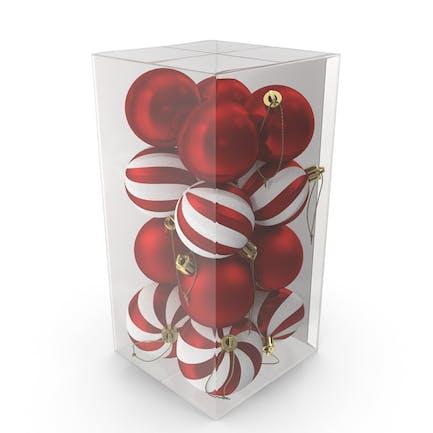 Ассорти Рождественский шар украшения пакет