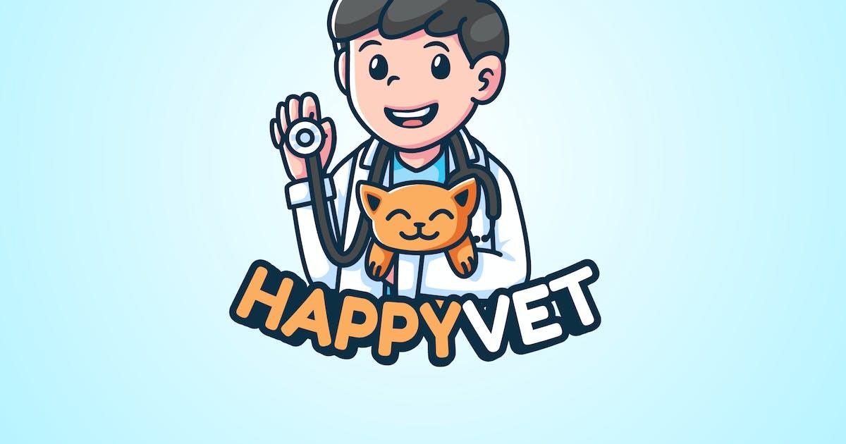Download HAPPYVET -Mascot & Esport Logo by aqrstudio