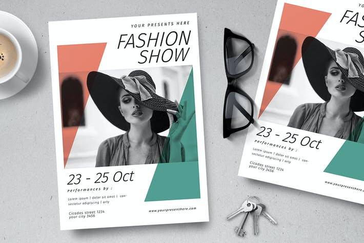 Cover Image For Fashion Show Poster & Flyer