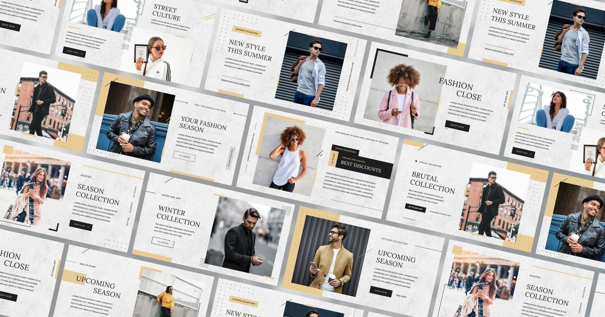 Download Fashion E-commerce Slides by George_Fx