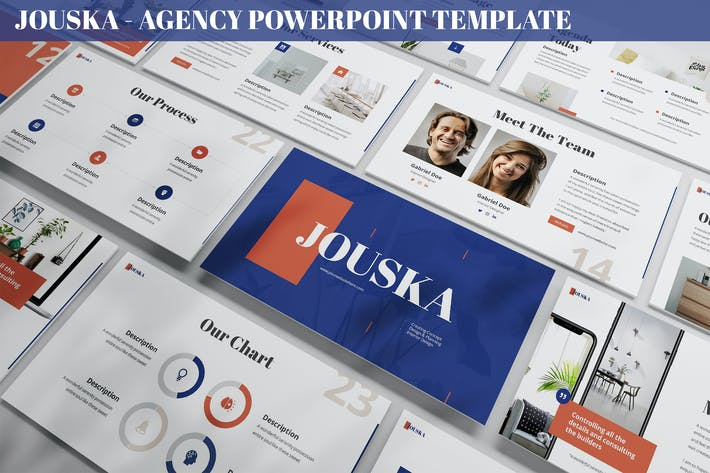 Thumbnail for Jouska - Agency Powerpoint Template