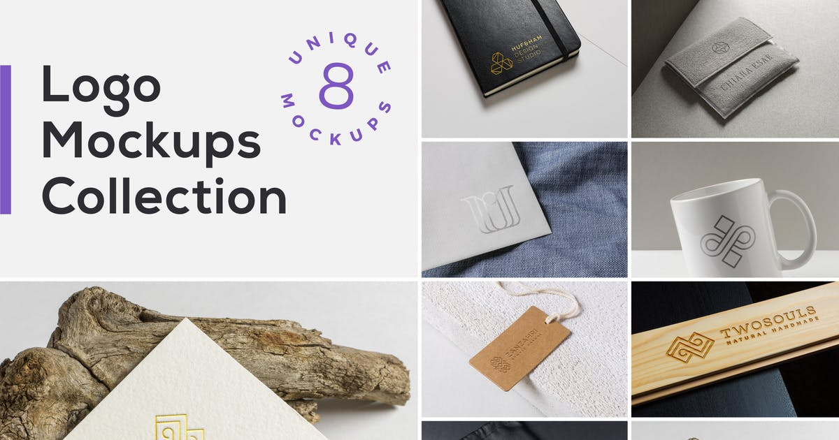 Download Logo Mockups Collection Vol. 2 by bulbfish