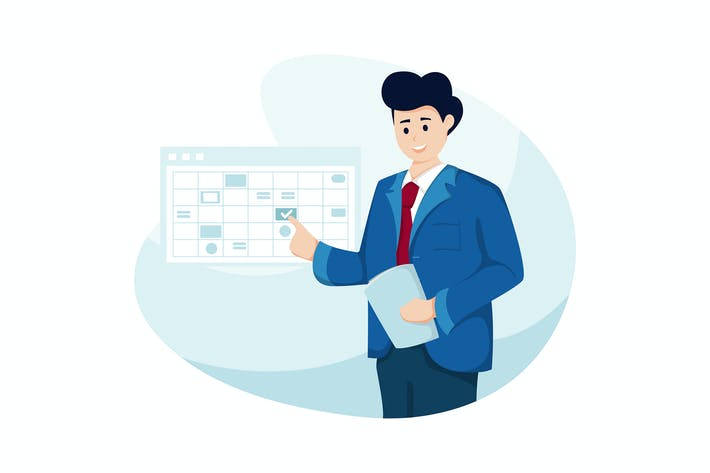 Thumbnail for Business Planning Vector Illustration concept