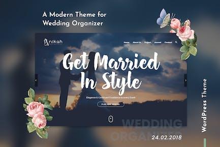 Nikah | Wedding Organizer & Planner WordPress