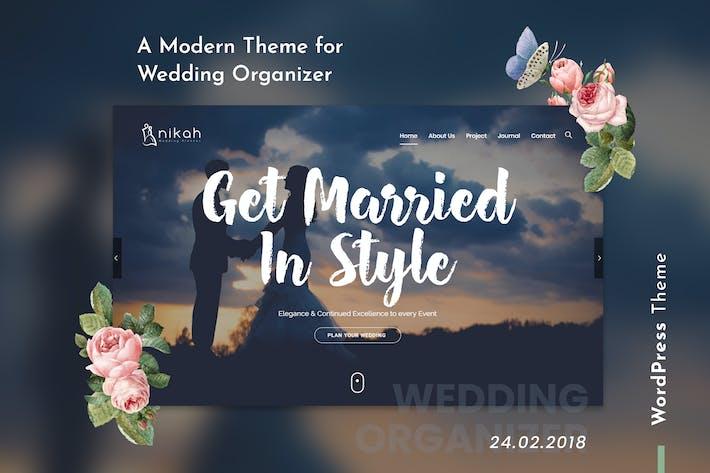 Thumbnail for Nikah | Wedding Organizer & Planner WordPress