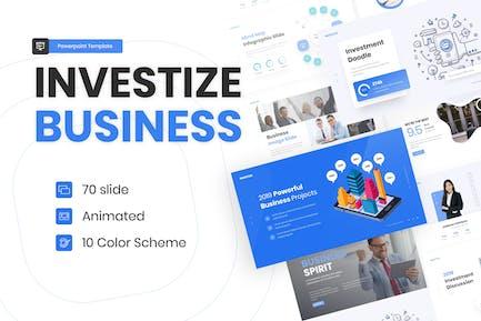 Investize Multipurpose Business Template