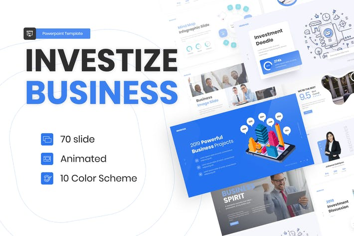 Investize Multipurpose Business Template