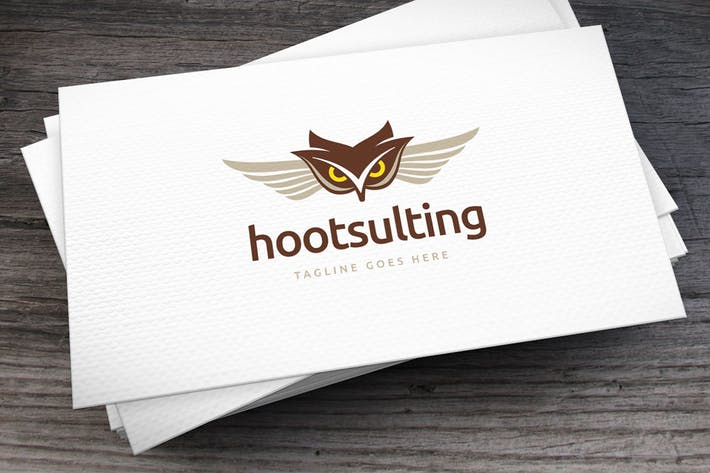Thumbnail for Hootsulting Logo Template